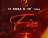 Fire - Dj Akuaa ft Feli Nuna