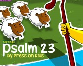 Psalm 23 - Press On Kids